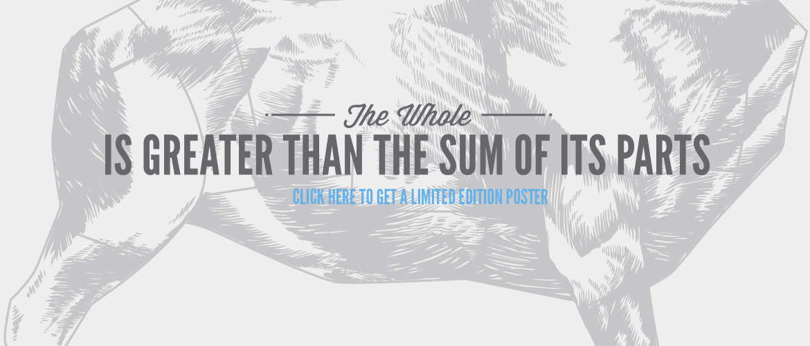 The Whole is Greater than the sum of its parts - click to get a limited edition poster