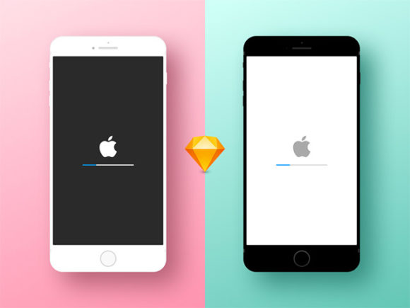iPhone sketch mockups