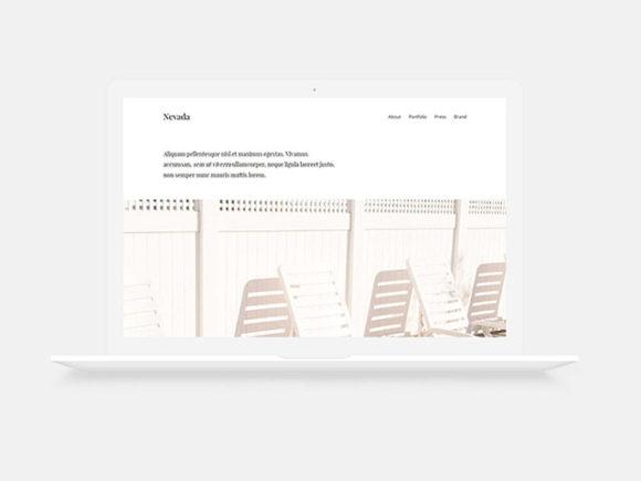 nevada html template
